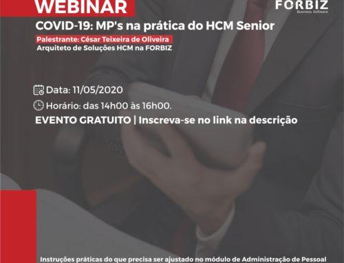 Webinar   COVID-19: MP's na prática do HCM Senior