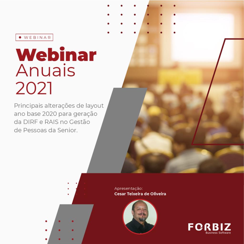 Webinar - Anuais 2021