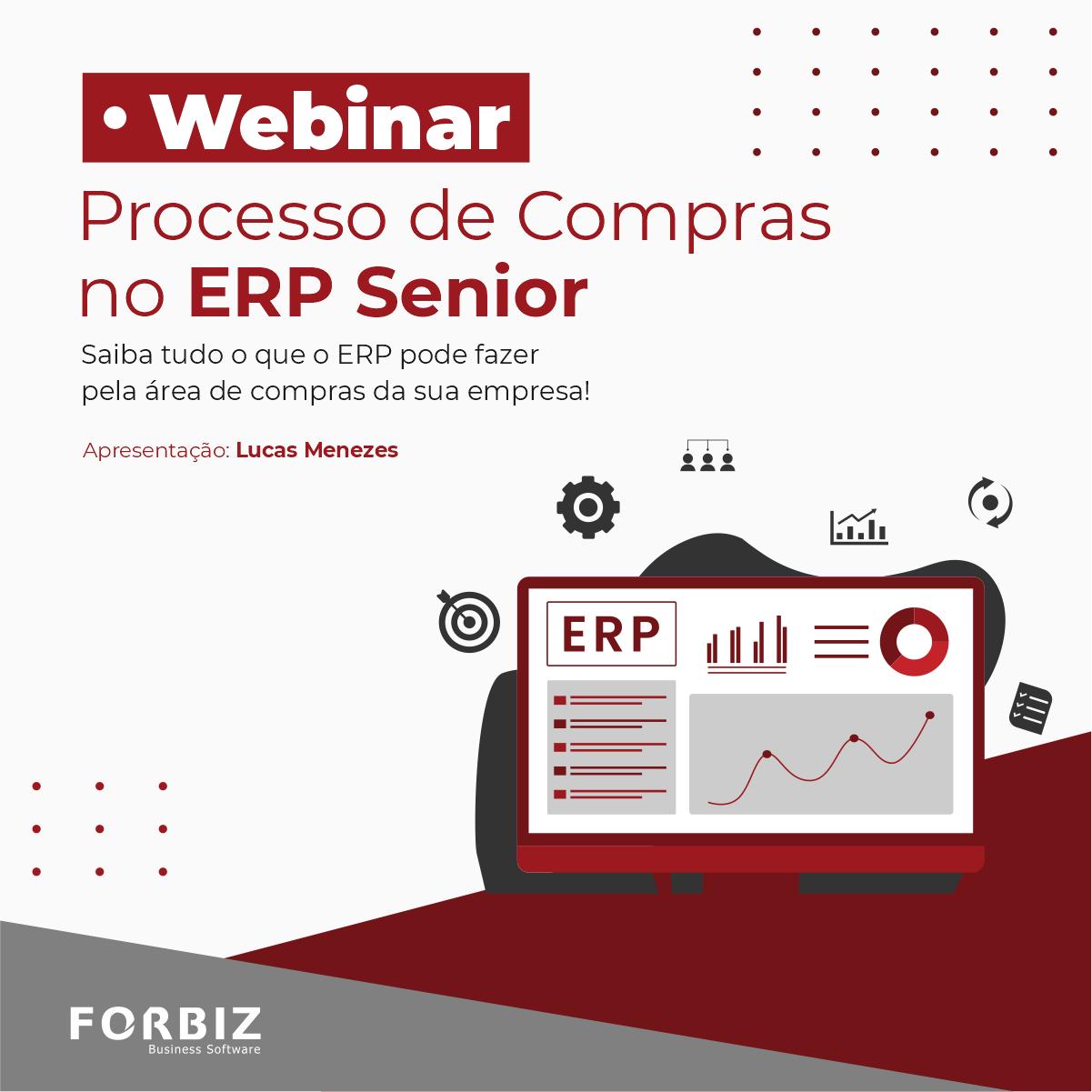 Webinar Processo de Compras no ERP Senior