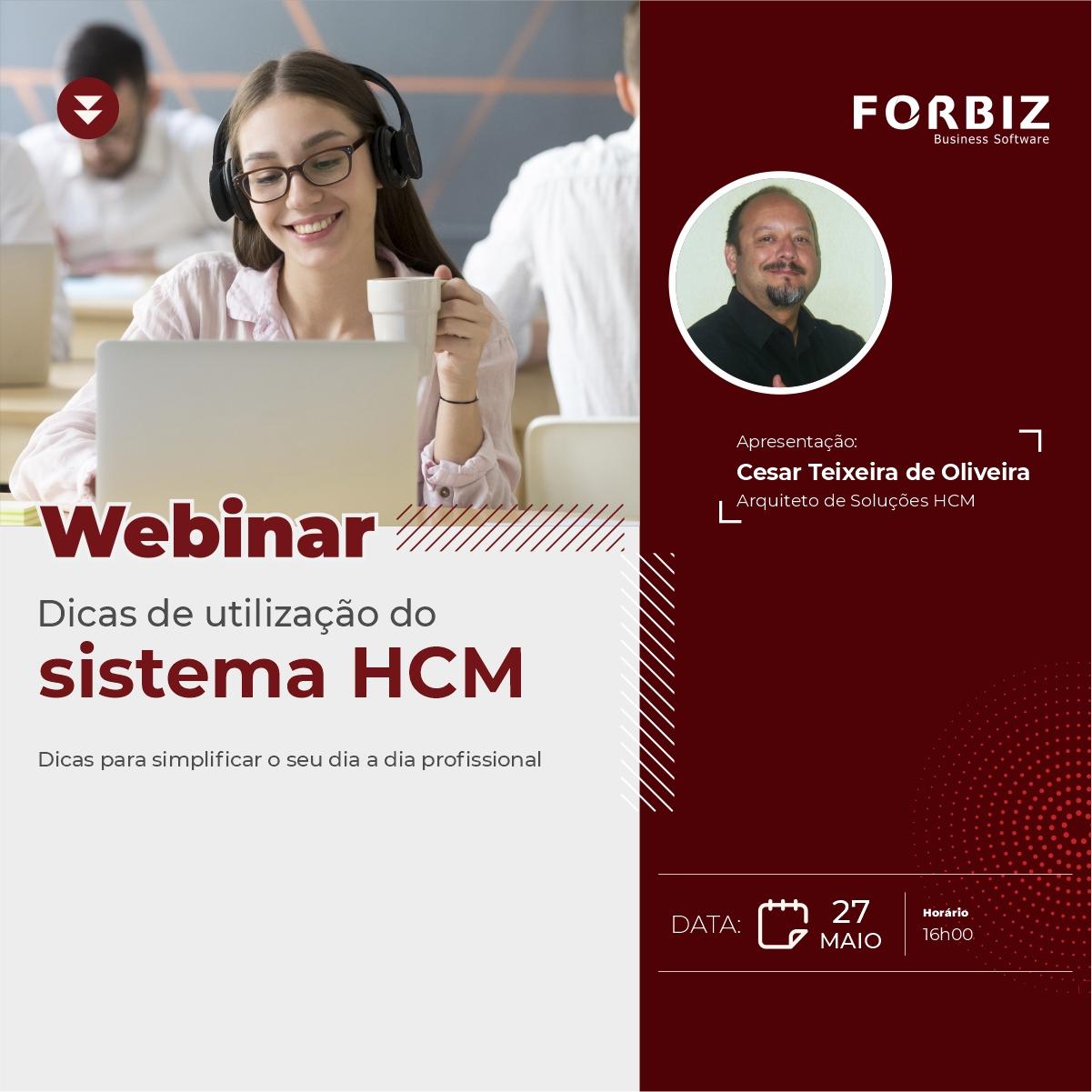 Webinar utilizacao HCM banner site