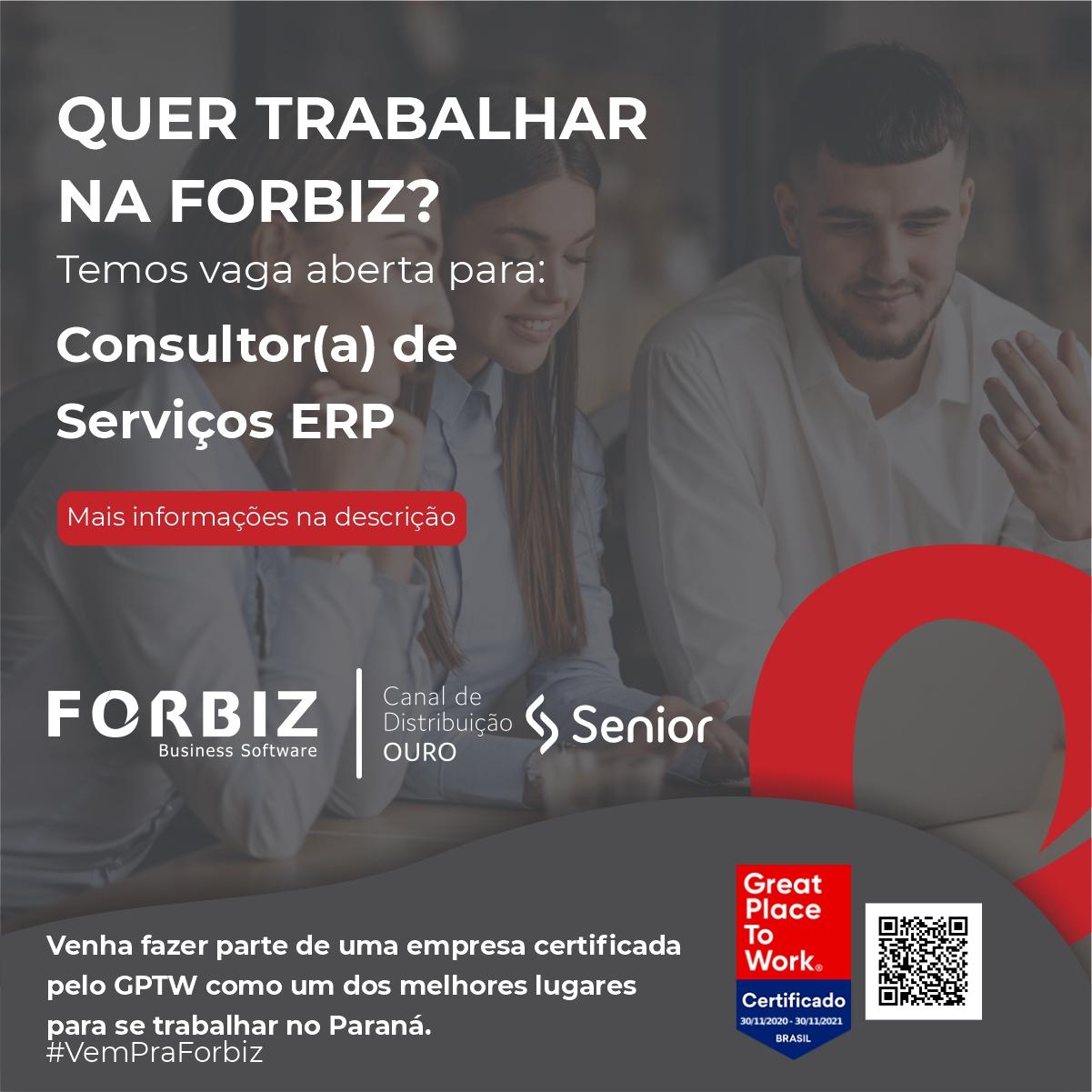 Consultor(a) de serviços ERP