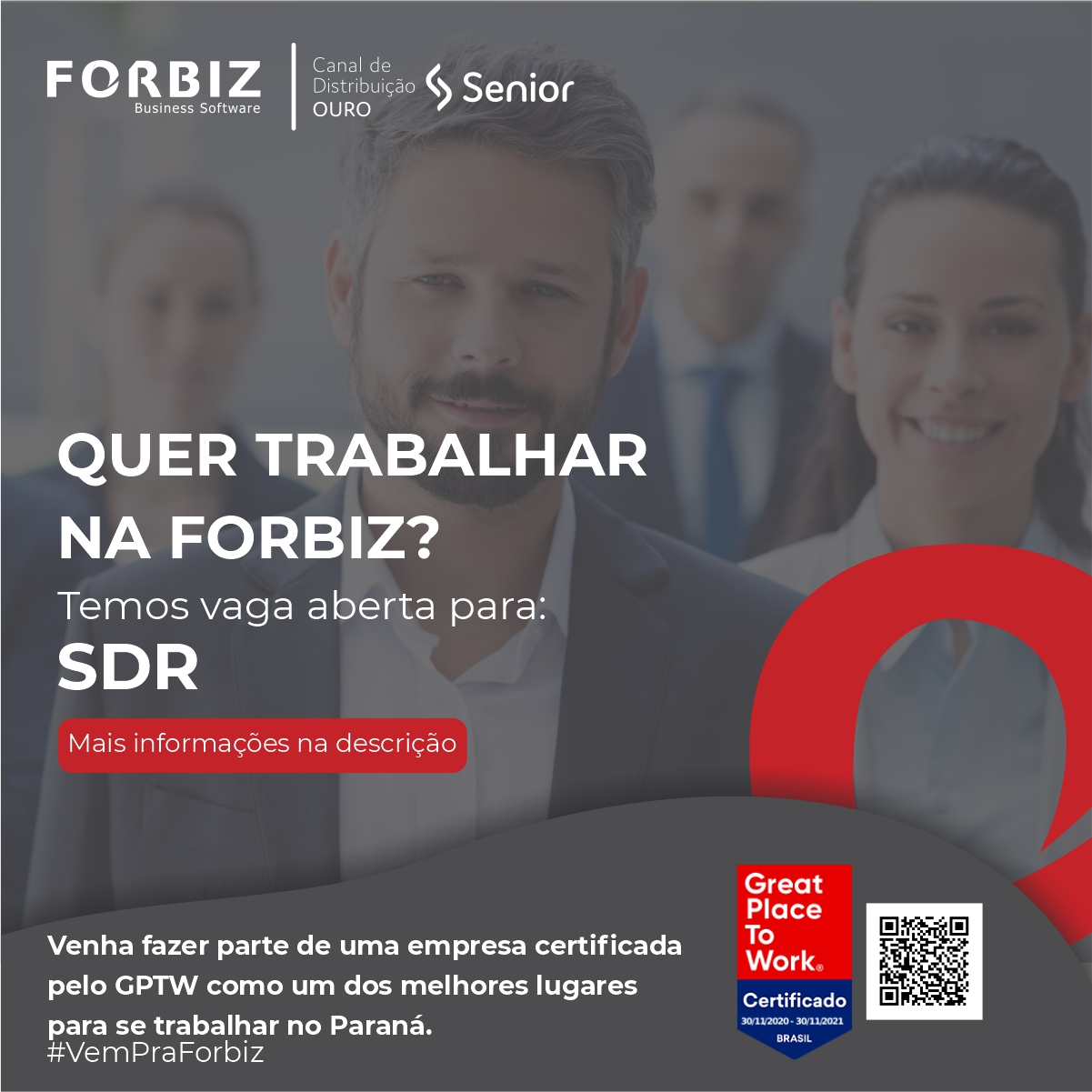 Vaga SDR Forbiz