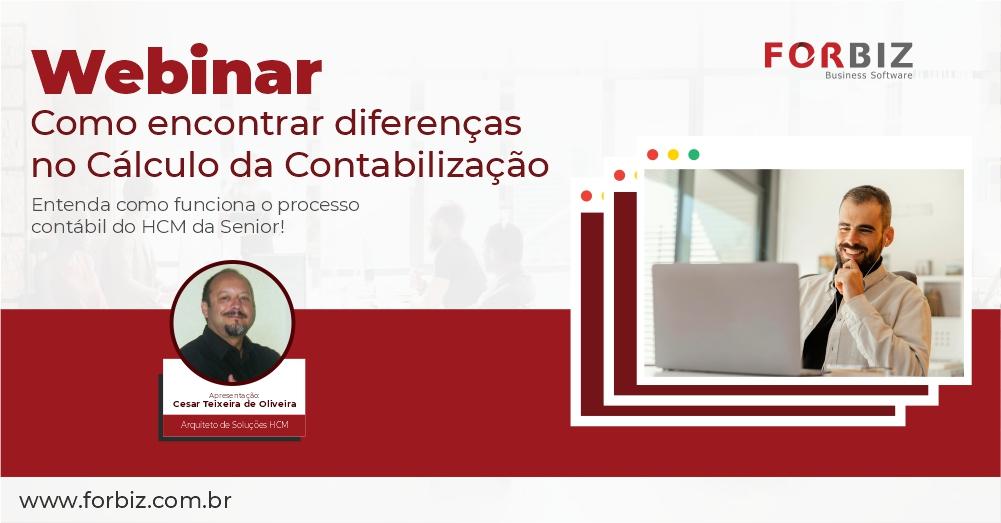 Webinar Como encontrar diferenças no Cálculo da Contabilização